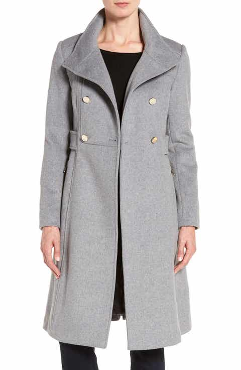 Women's Grey Double Breasted Coats & Jackets | Nordstrom