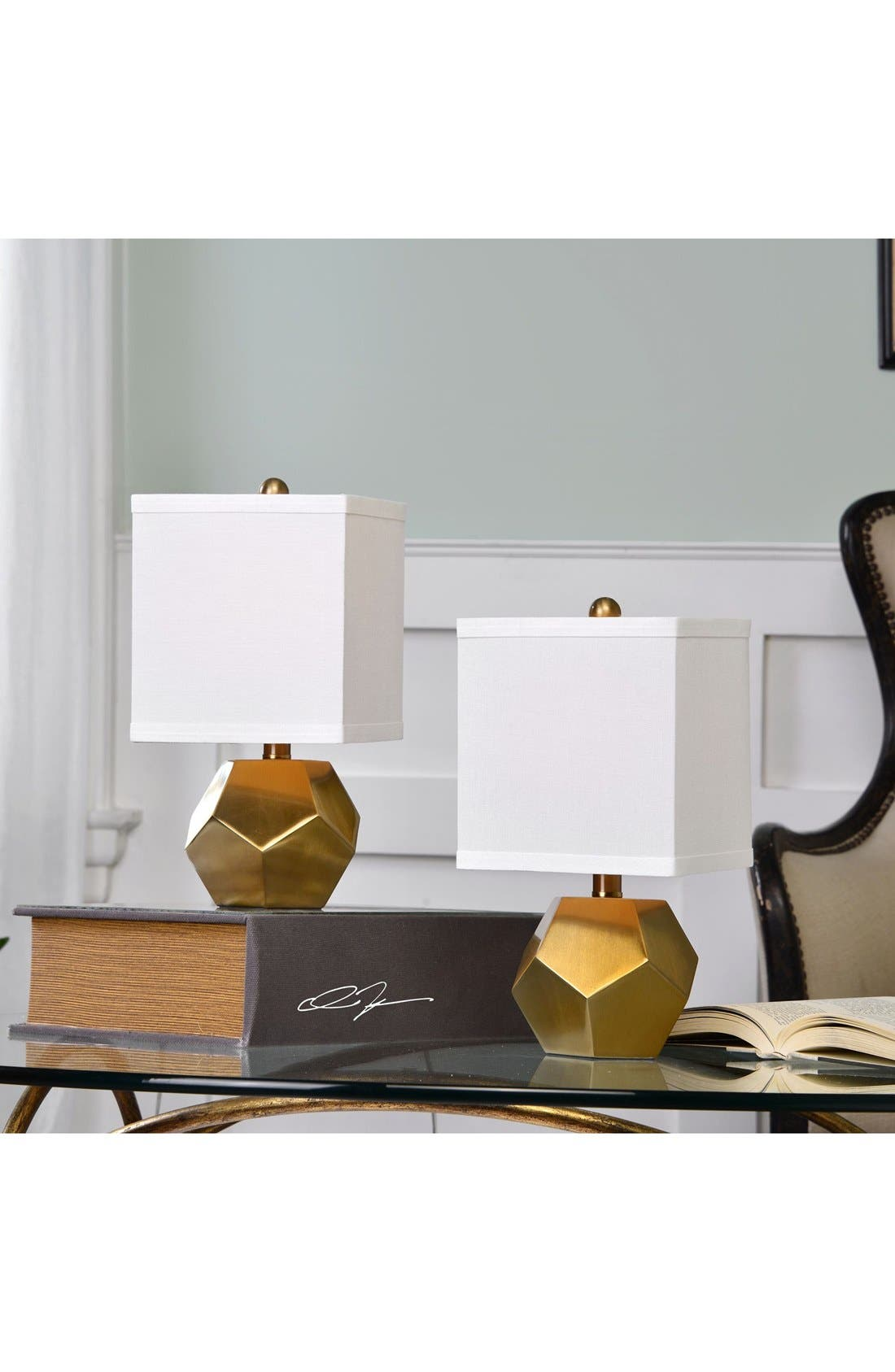 Alternate Image 2  - Uttermost 'Geo Cube' Lamps (Set of 2)