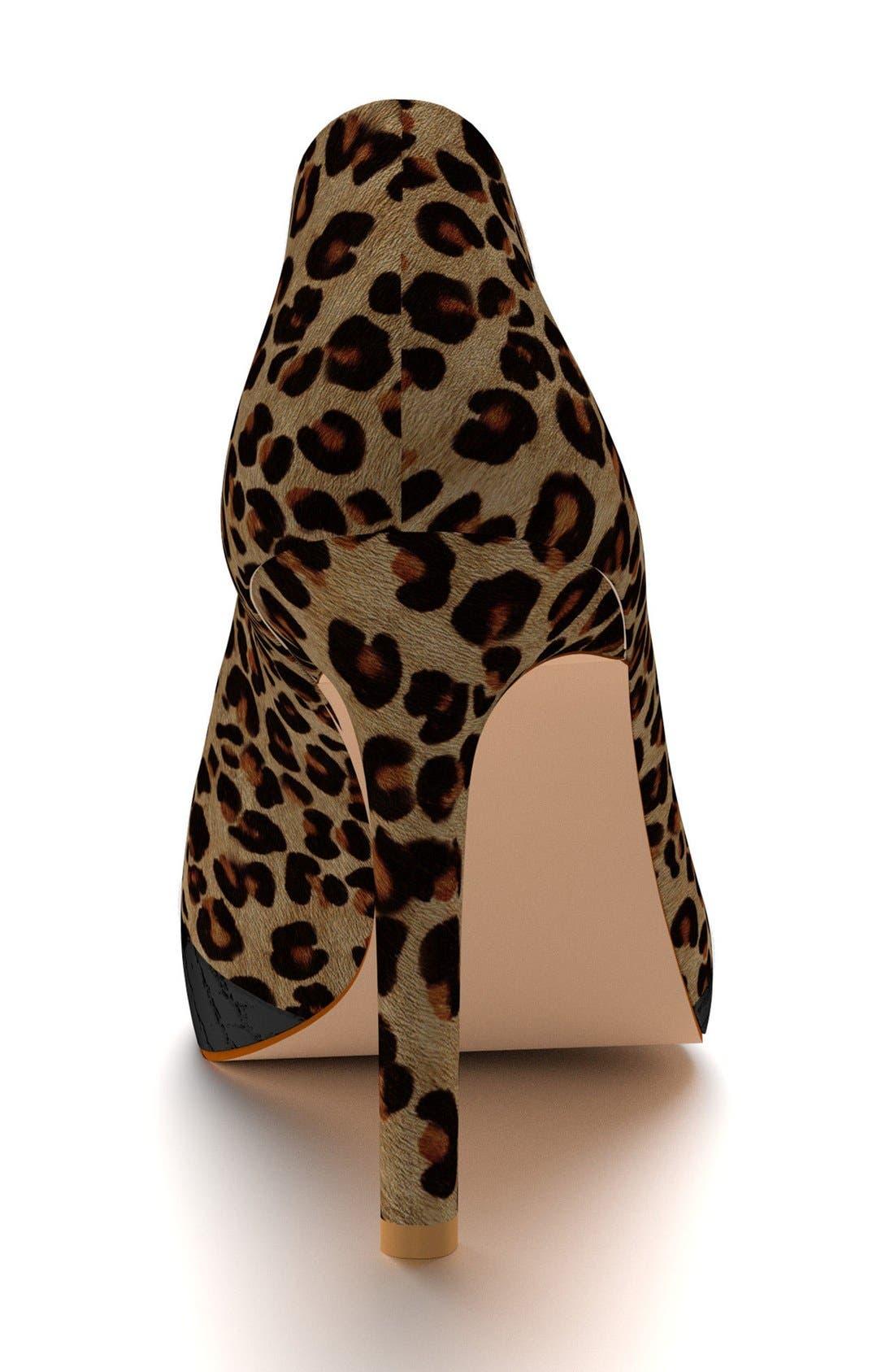 Alternate Image 2  - Shoes of Prey Genuine Calf Hair Pointy Toe Pump (Women)