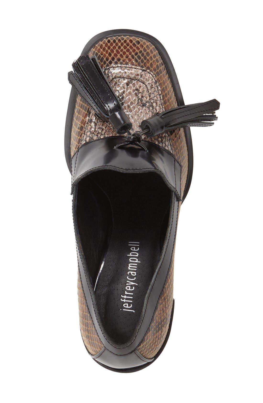 Alternate Image 3  - Jeffrey Campbell 'Harper' Tassel Loafer Pump (Women)