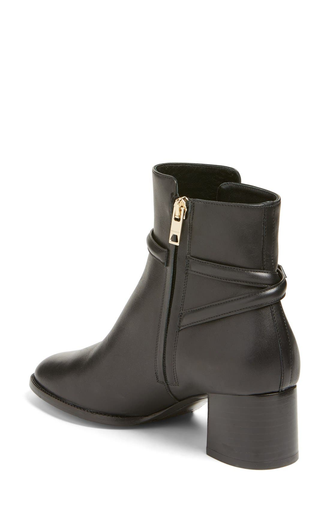 Alternate Image 2  - Burberry 'Shola' Block Heel Bootie (Women)