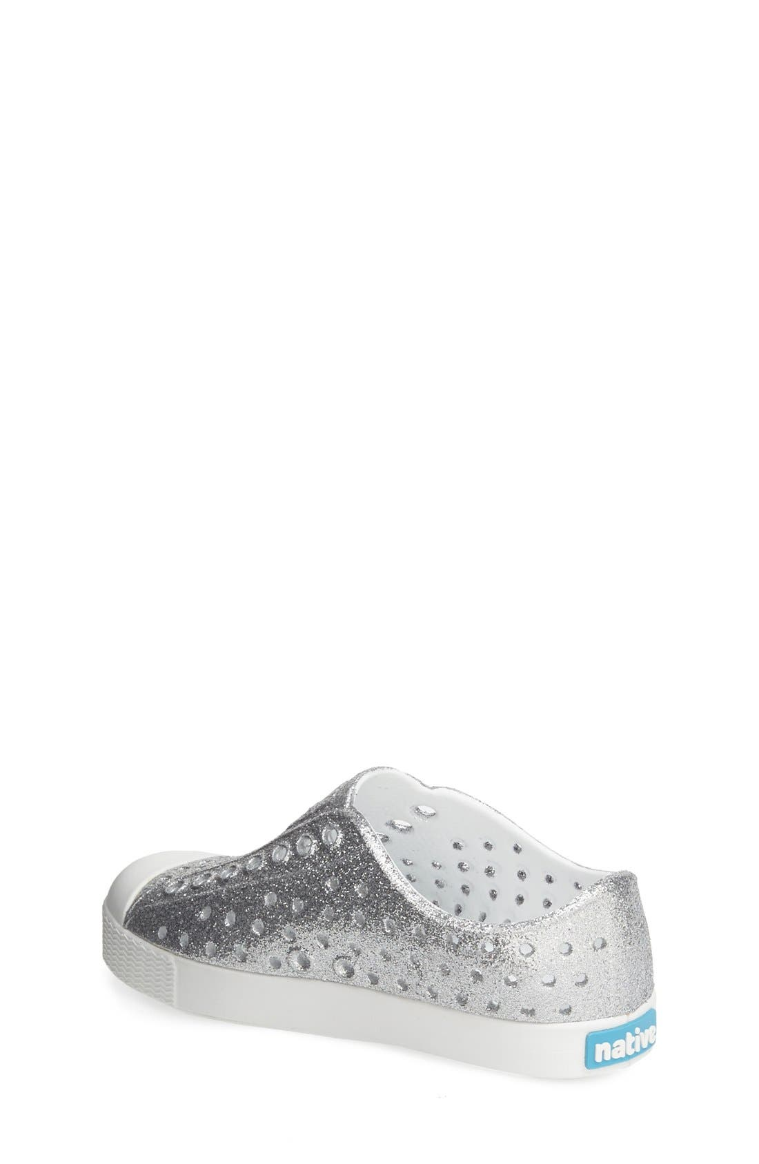 Alternate Image 2  - Native Shoes 'Jefferson - Bling' Slip-On Sneaker (Baby, Walker, Toddler & Little Kid)