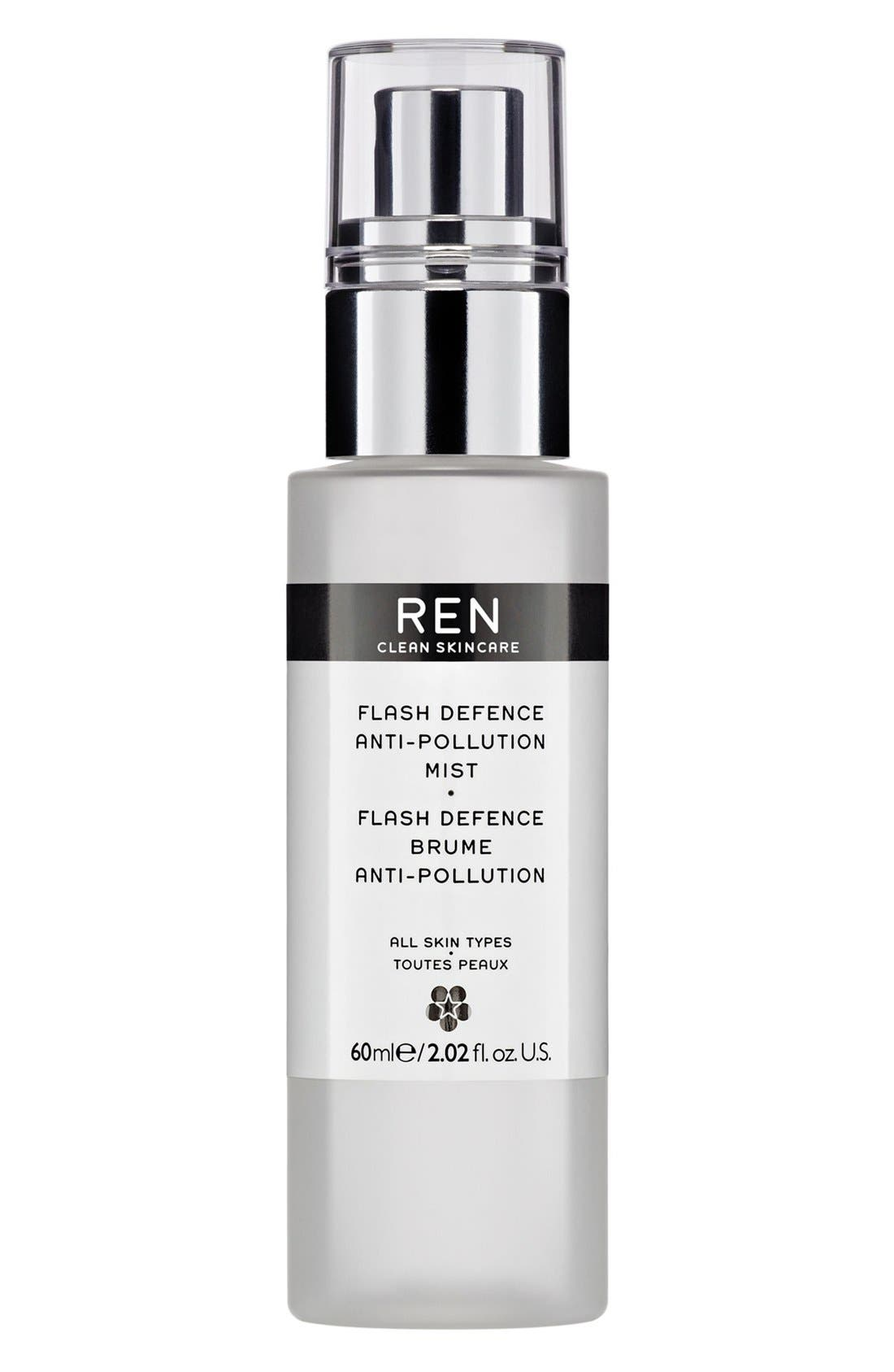 SPACE.NK.apothecary REN Flash Defence Anti-Pollution Mist