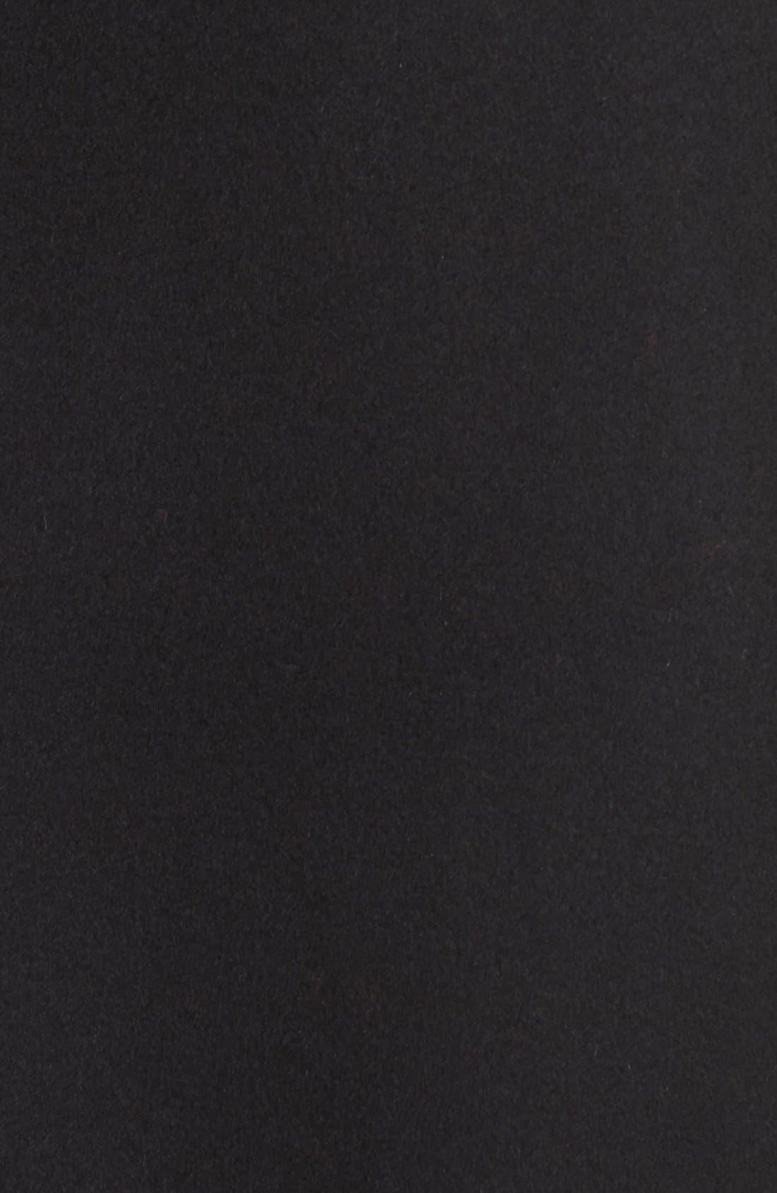 Charles Wool & Cashmere Coat,                             Alternate thumbnail 5, color,                             Black