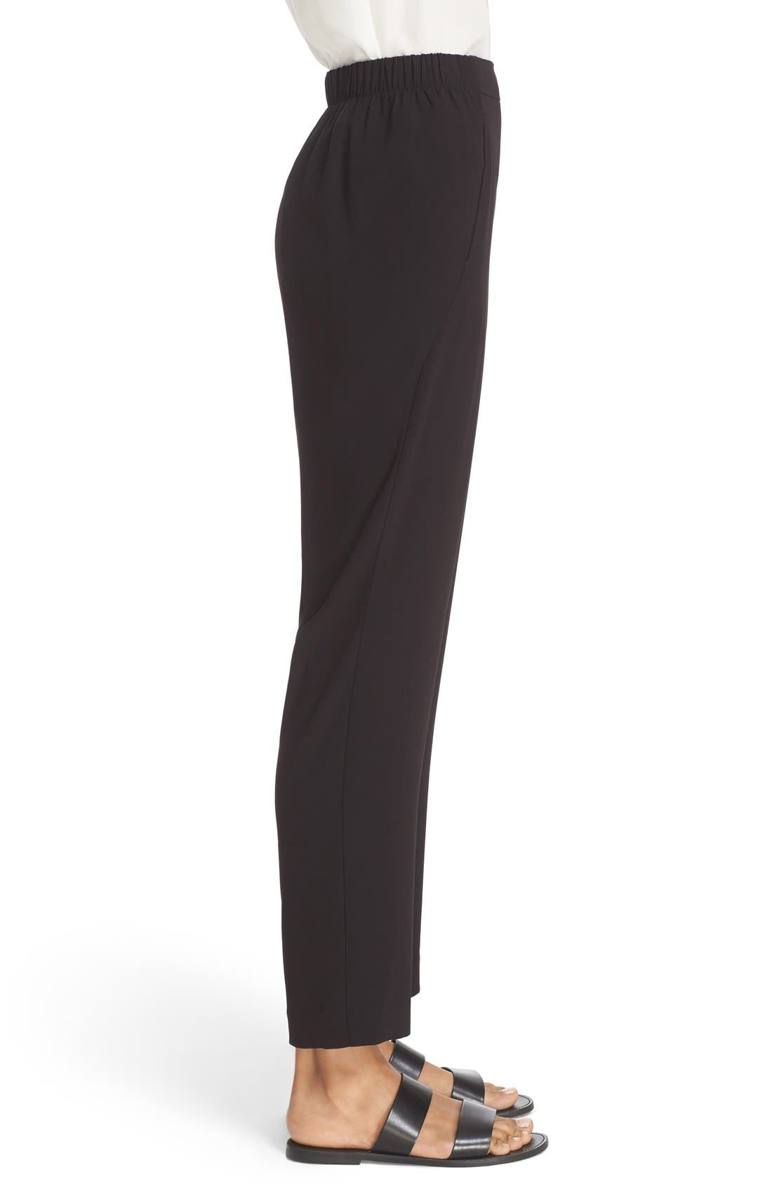 Alternate Image 4  - St. John Sport Collection Satin Back Crepe Pants