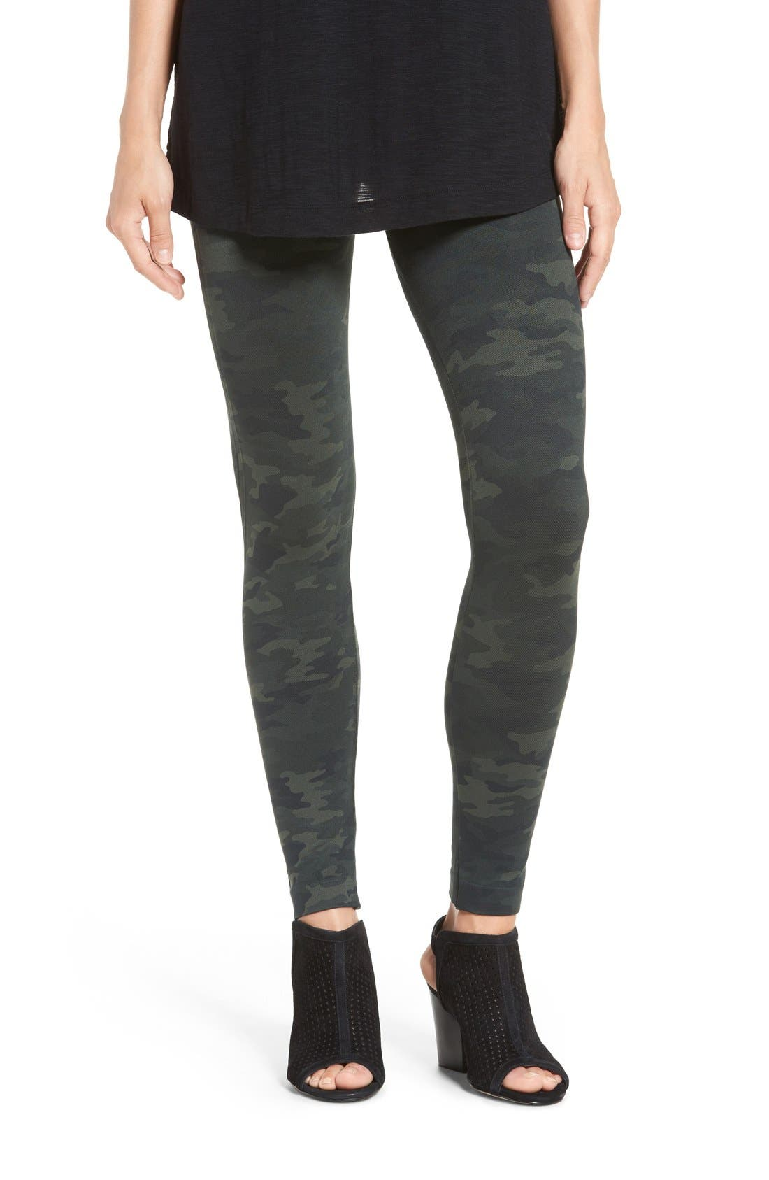 SPANX<SUP>®</SUP> Seamless Camouflage Leggings