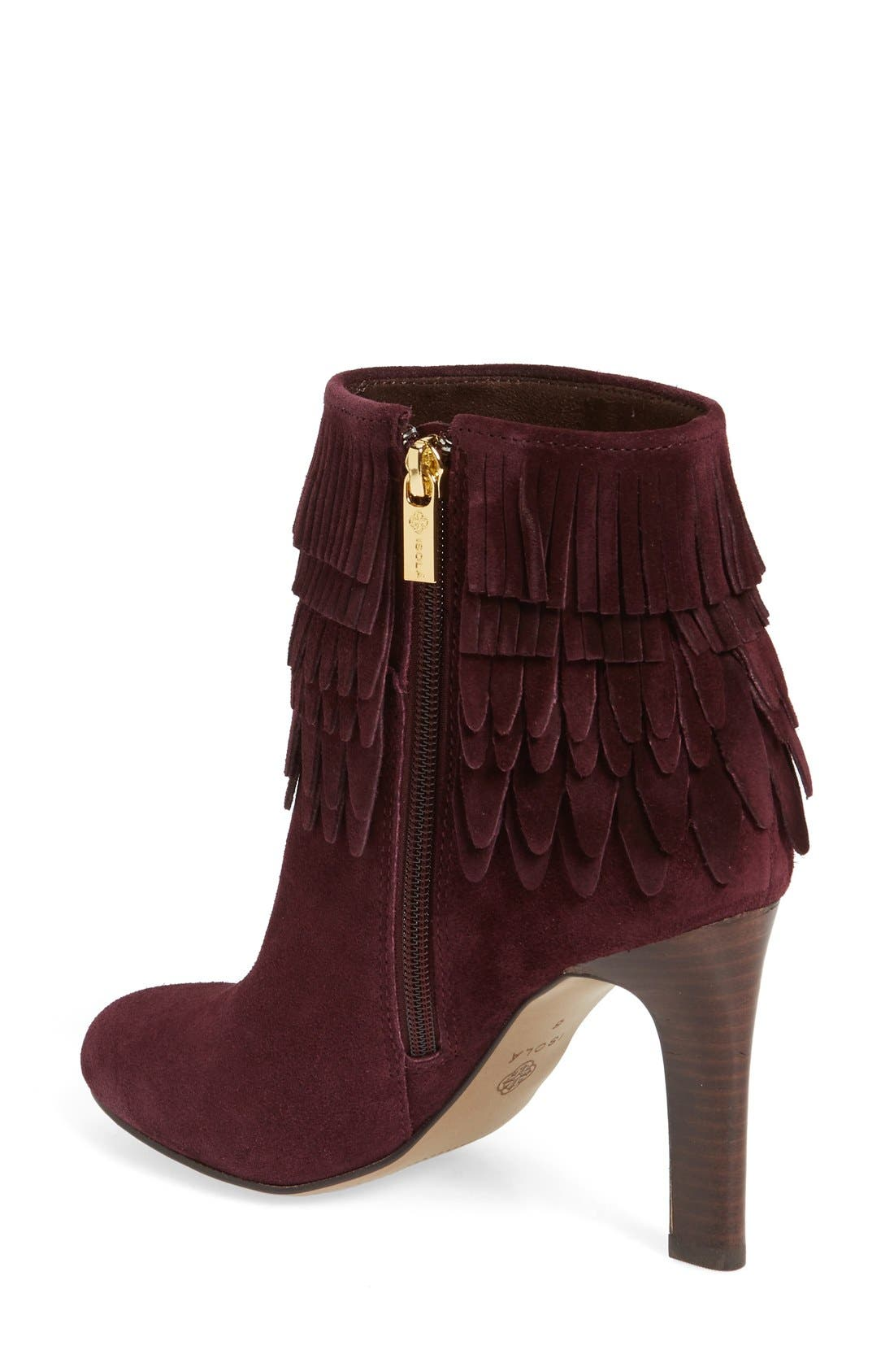 Alternate Image 2  - Isolá 'Layton' Fringe Bootie (Women)