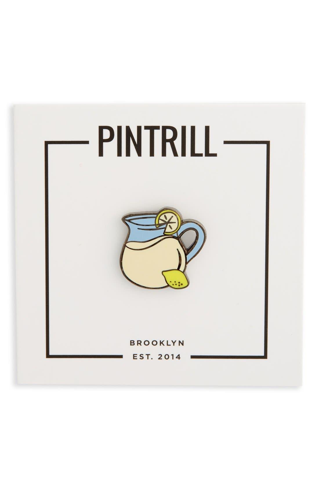 Main Image - PINTRILL 'Lemonade Pitcher' Fashion Accessory Pin