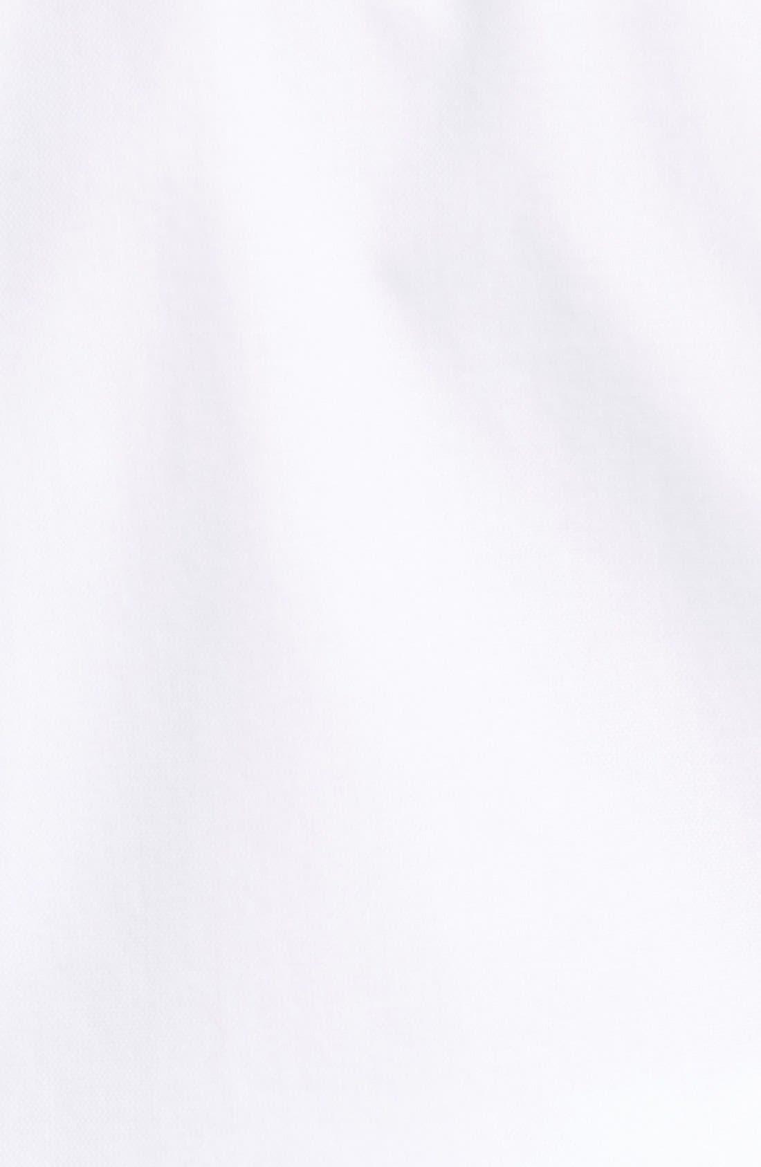 San Juan Classic Fit Wrinkle Free Solid Sport Shirt,                             Alternate thumbnail 5, color,                             White