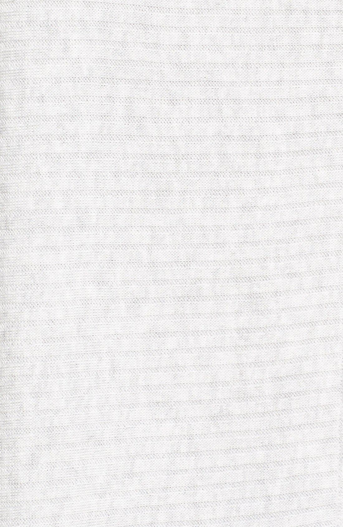 Lover Rib Split Back Pullover,                             Alternate thumbnail 5, color,                             Grey