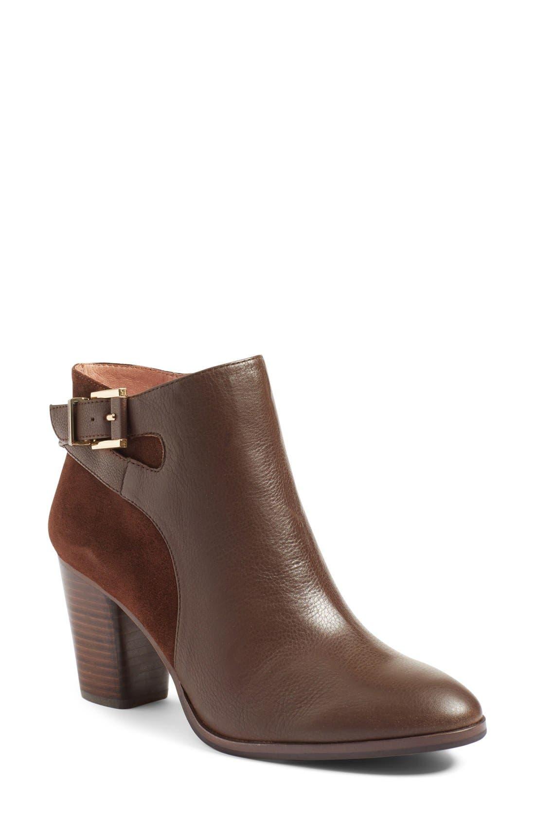 Main Image - Louise et Cie 'Vasca' Almond Toe Bootie (Women) (Nordstrom Exclusive)