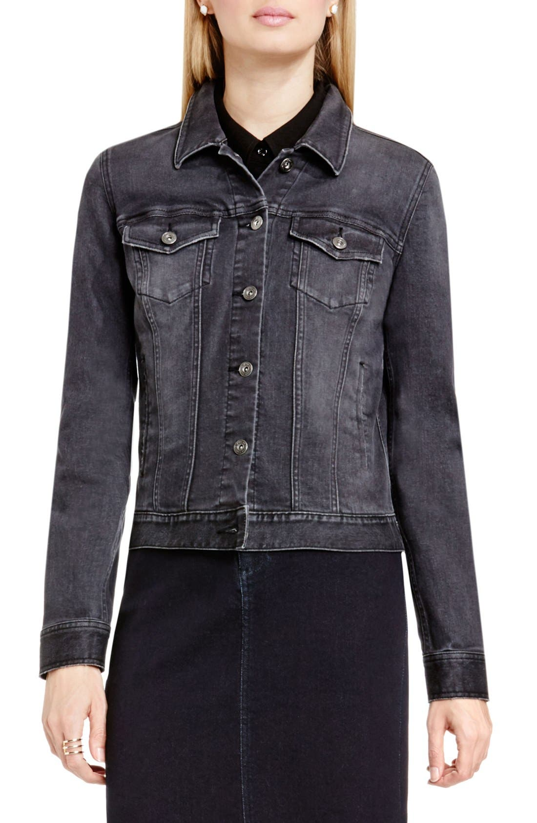 Alternate Image 1 Selected - Two by Vince Camuto Denim Jacket