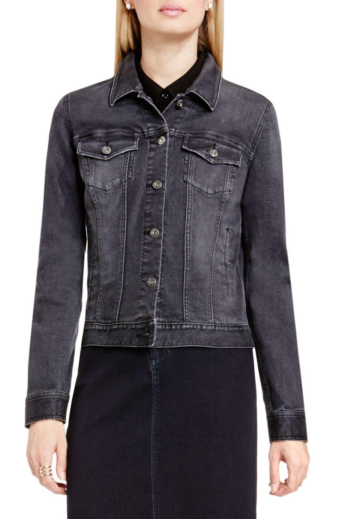 Denim Jacket,                         Main,                         color, Slate Wash