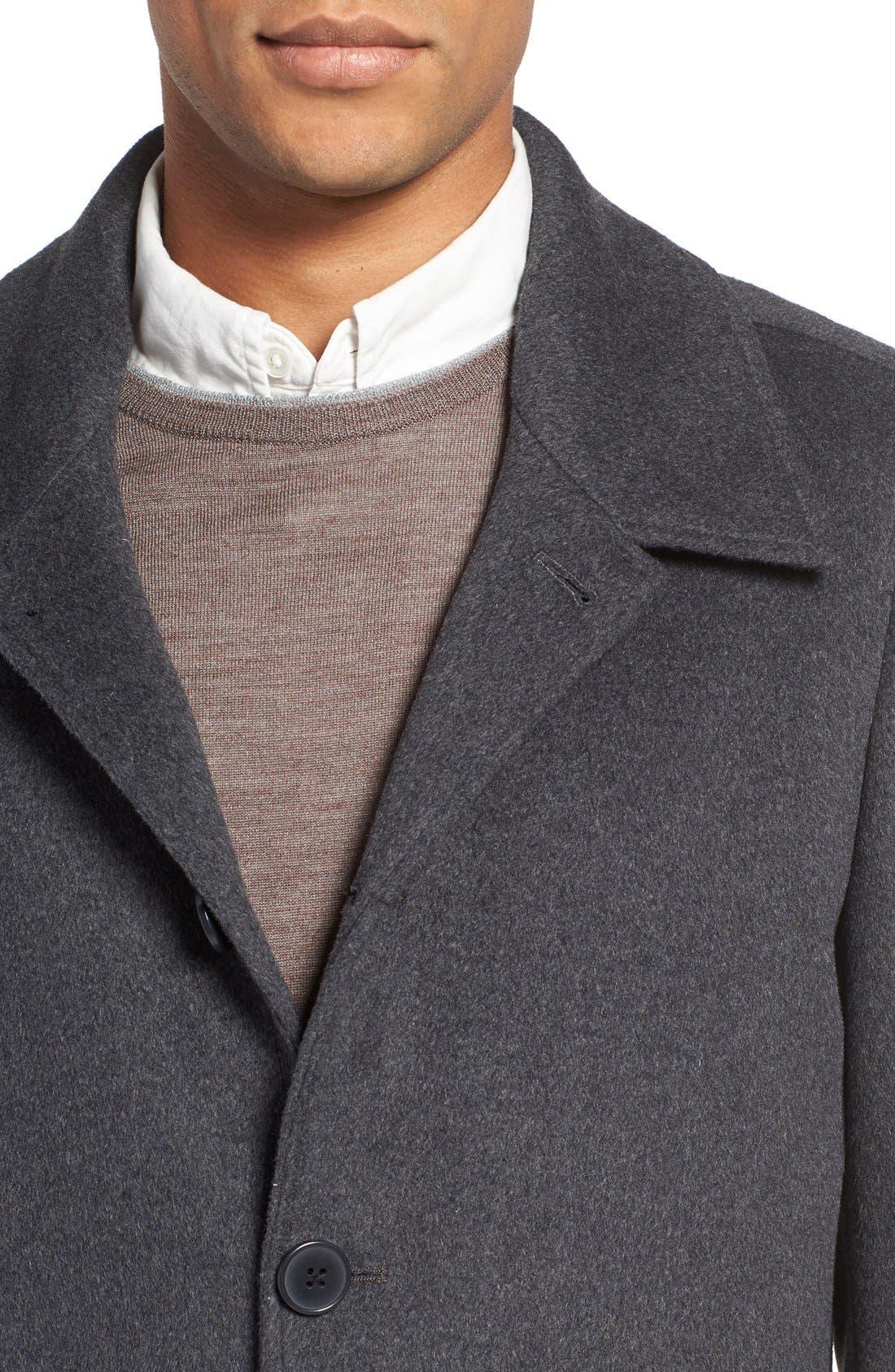 Alternate Image 4  - Nordstrom Men's Shop Wool Blend Car Coat