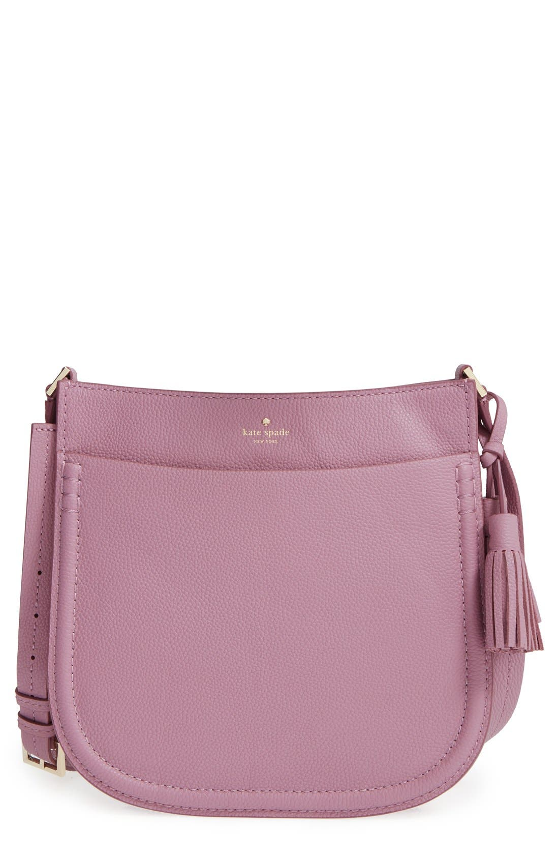 Main Image - kate spade new york 'orchard street - hemsley' leather shoulder bag