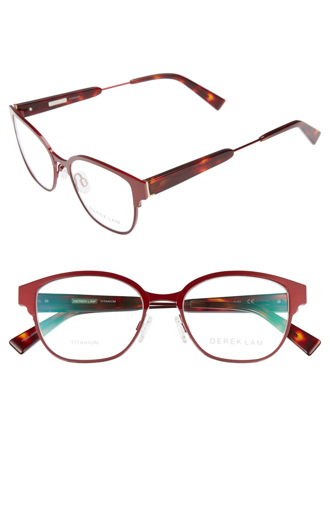 52mm Optical Glasses,                         Main,                         color, Ruby