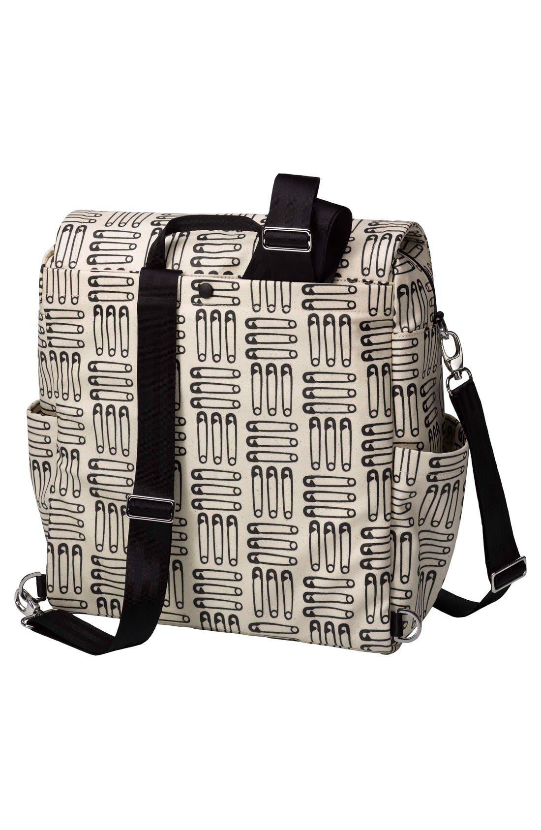 'City Carryall' Diaper Bag,                             Alternate thumbnail 5, color,                             London Calling