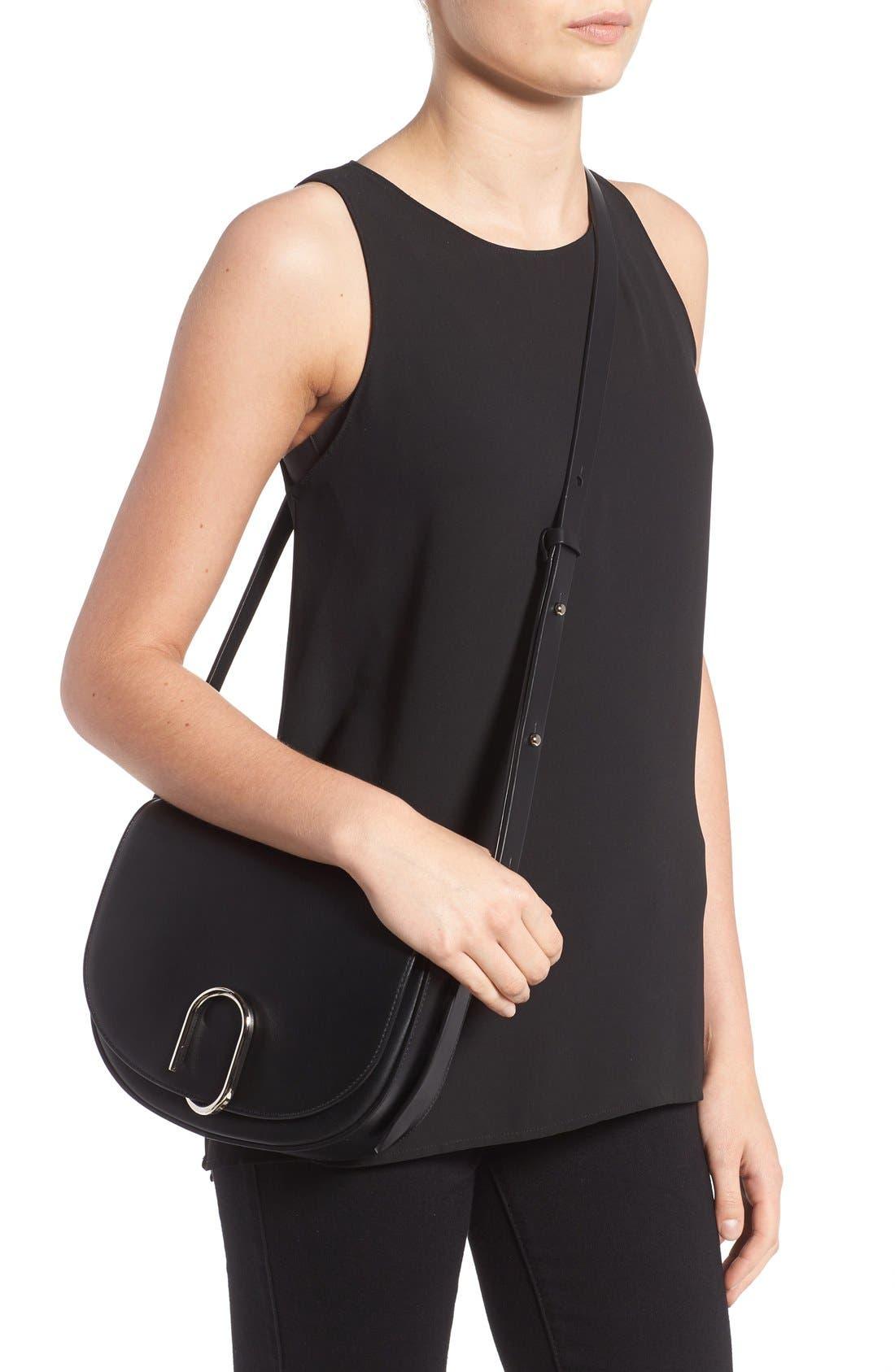 Alternate Image 2  - 3.1 Phillip Lim Alix Leather Saddle Bag