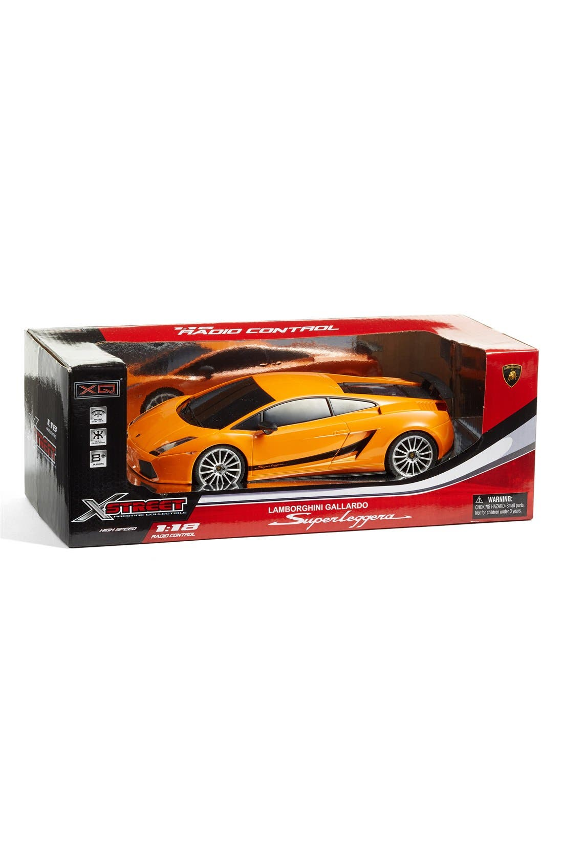 Lamborghini Superleggera 1:18 Scale Remote Control Car Toy,                             Alternate thumbnail 2, color,                             Orange