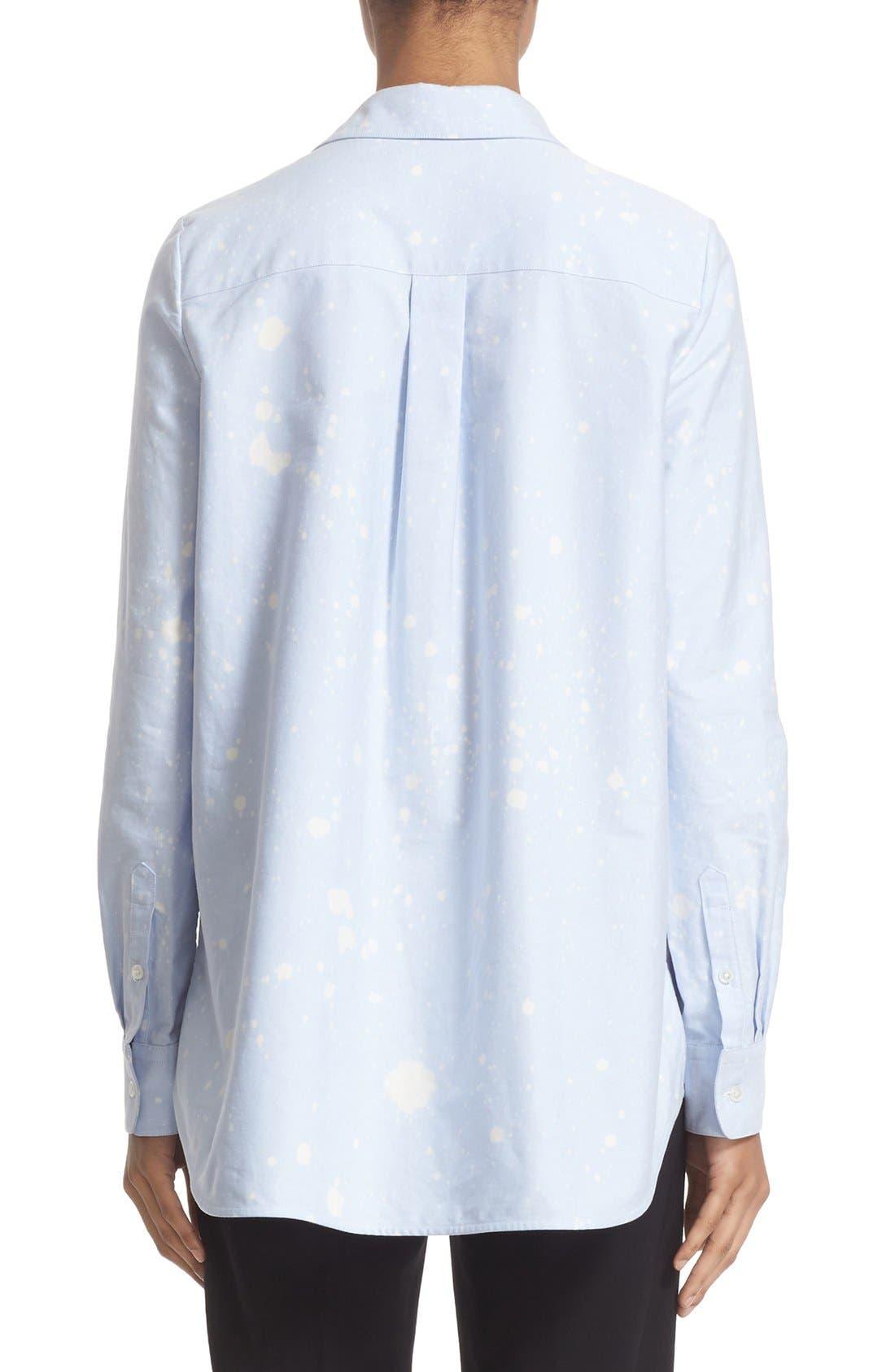 Alternate Image 2  - Alexander Wang Bleach Splatter A-Line Tunic Top