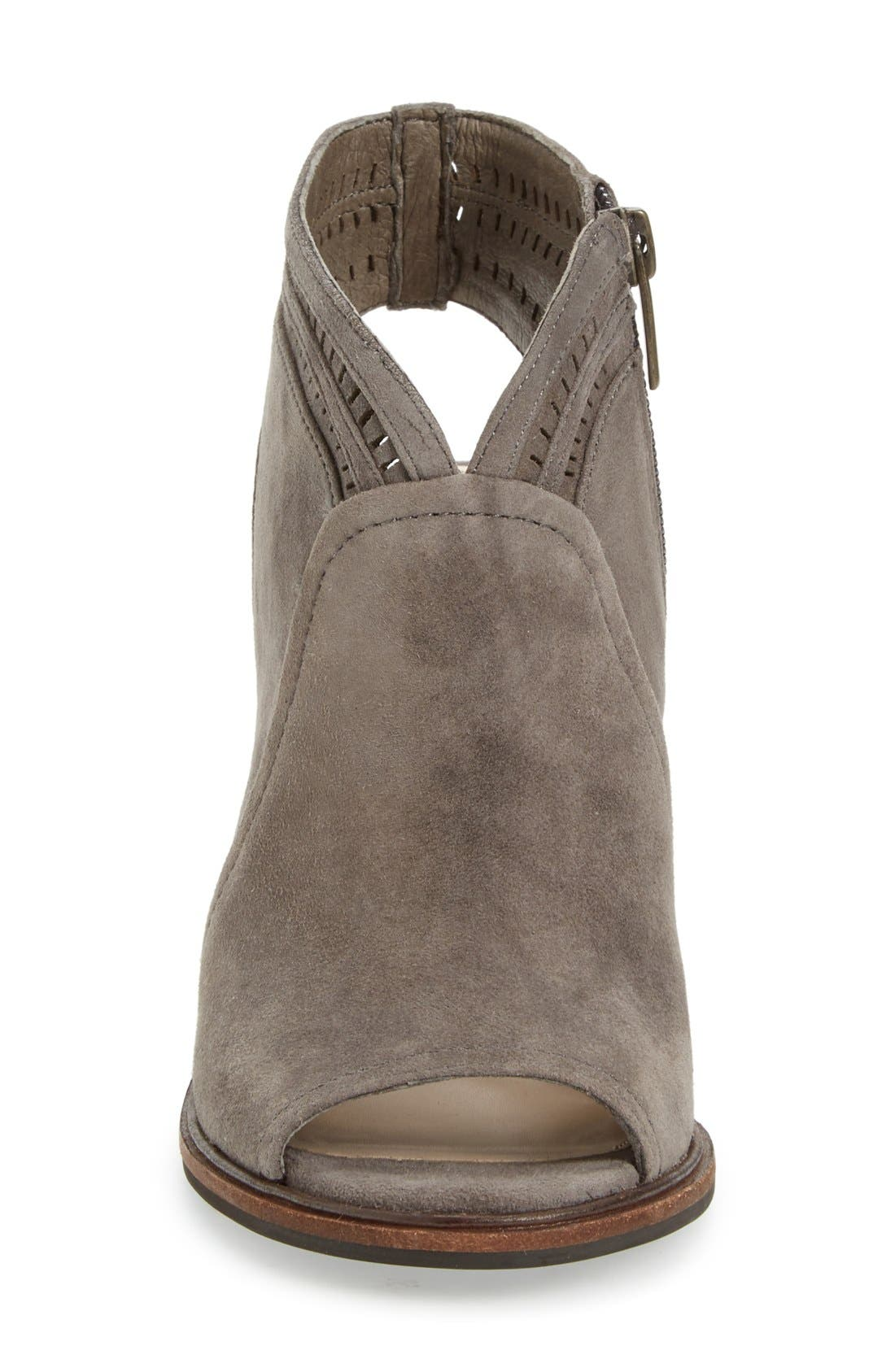 Alternate Image 3  - Vince Camuto 'Koral' Perforated Open Toe Bootie (Women) (Nordstrom Exclusive)