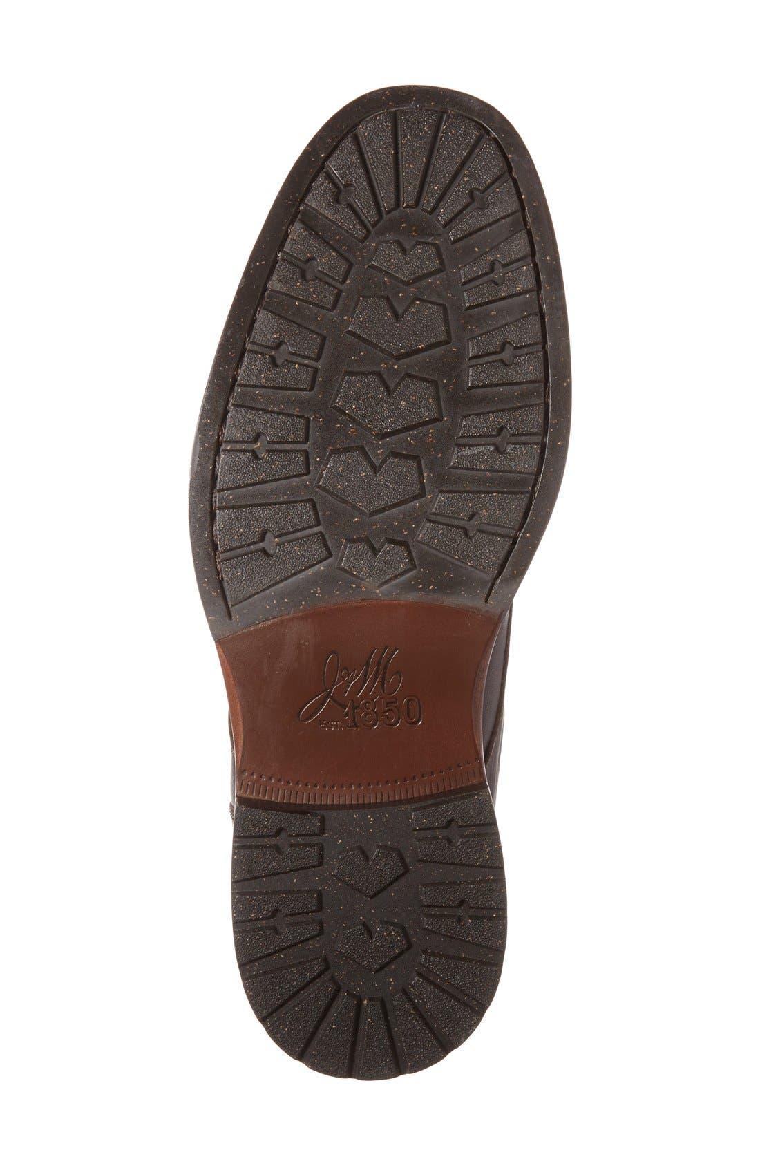 'Baird' Moc Toe Boot,                             Alternate thumbnail 4, color,                             Brown