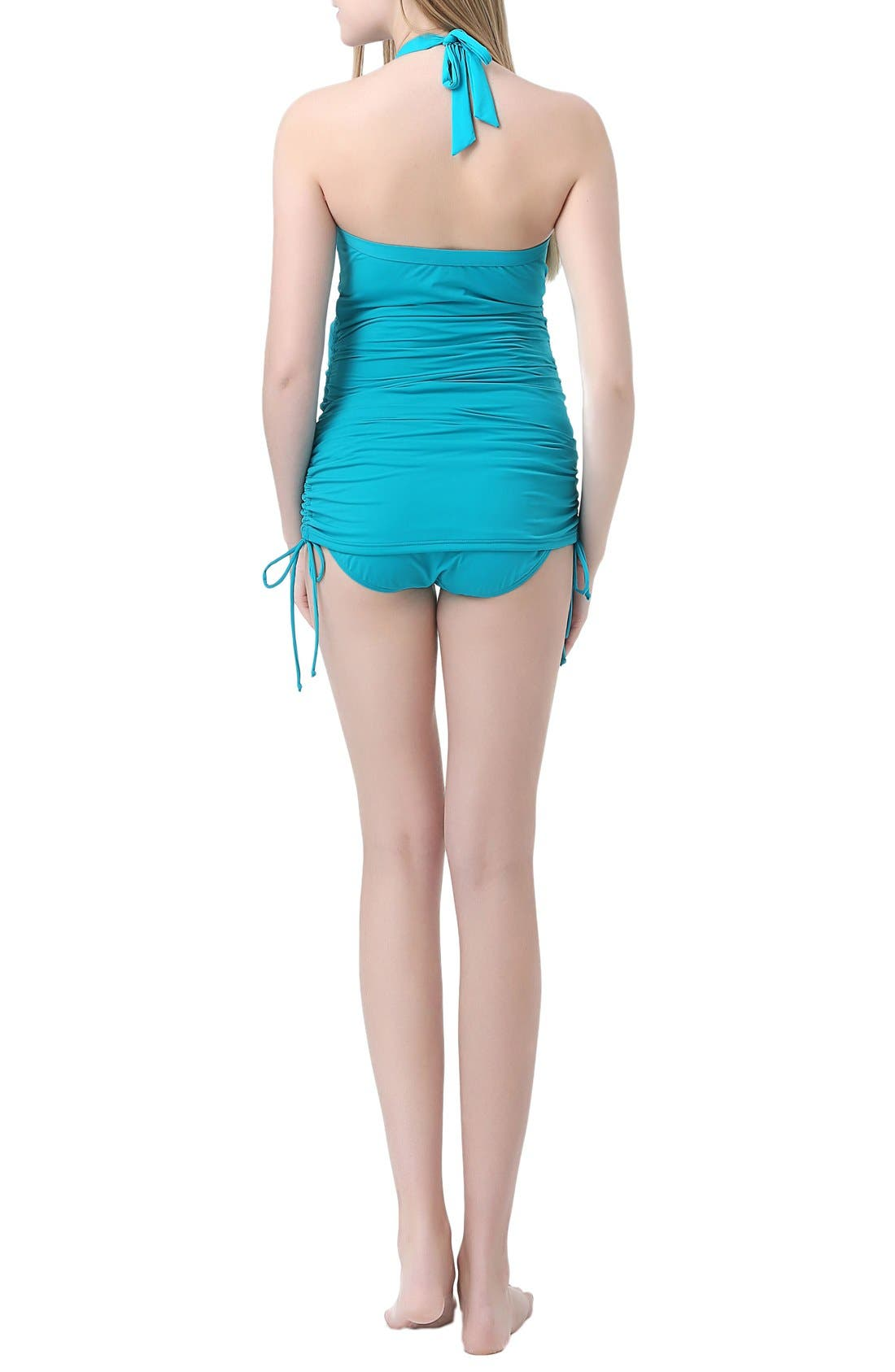 Alternate Image 2  - Kimi and Kai 'Chloe' Maternity Two-Piece Tankini Swimsuit