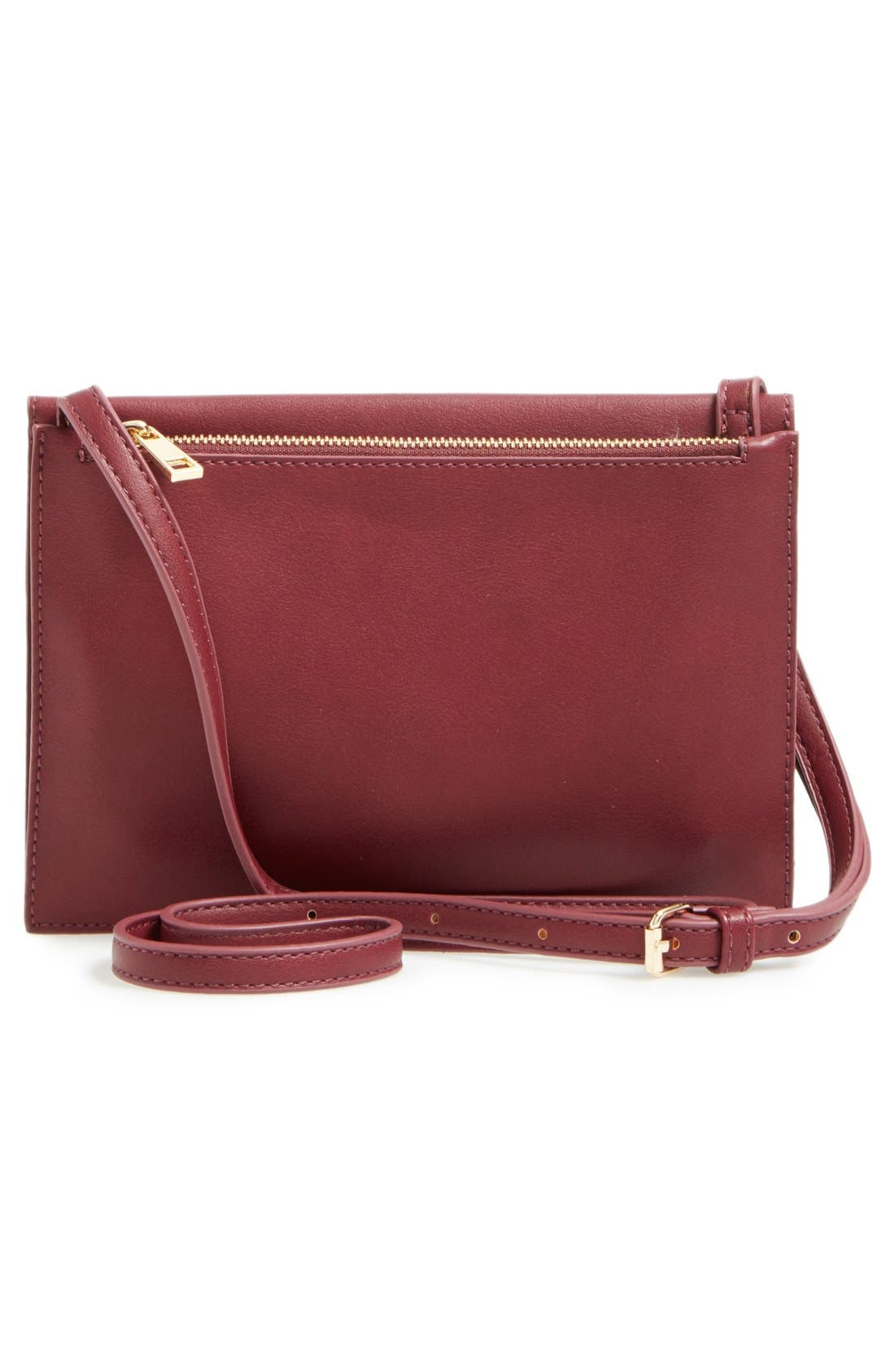 Alternate Image 3  - Sole Society 'Vanessa' Faux Leather Crossbody Bag