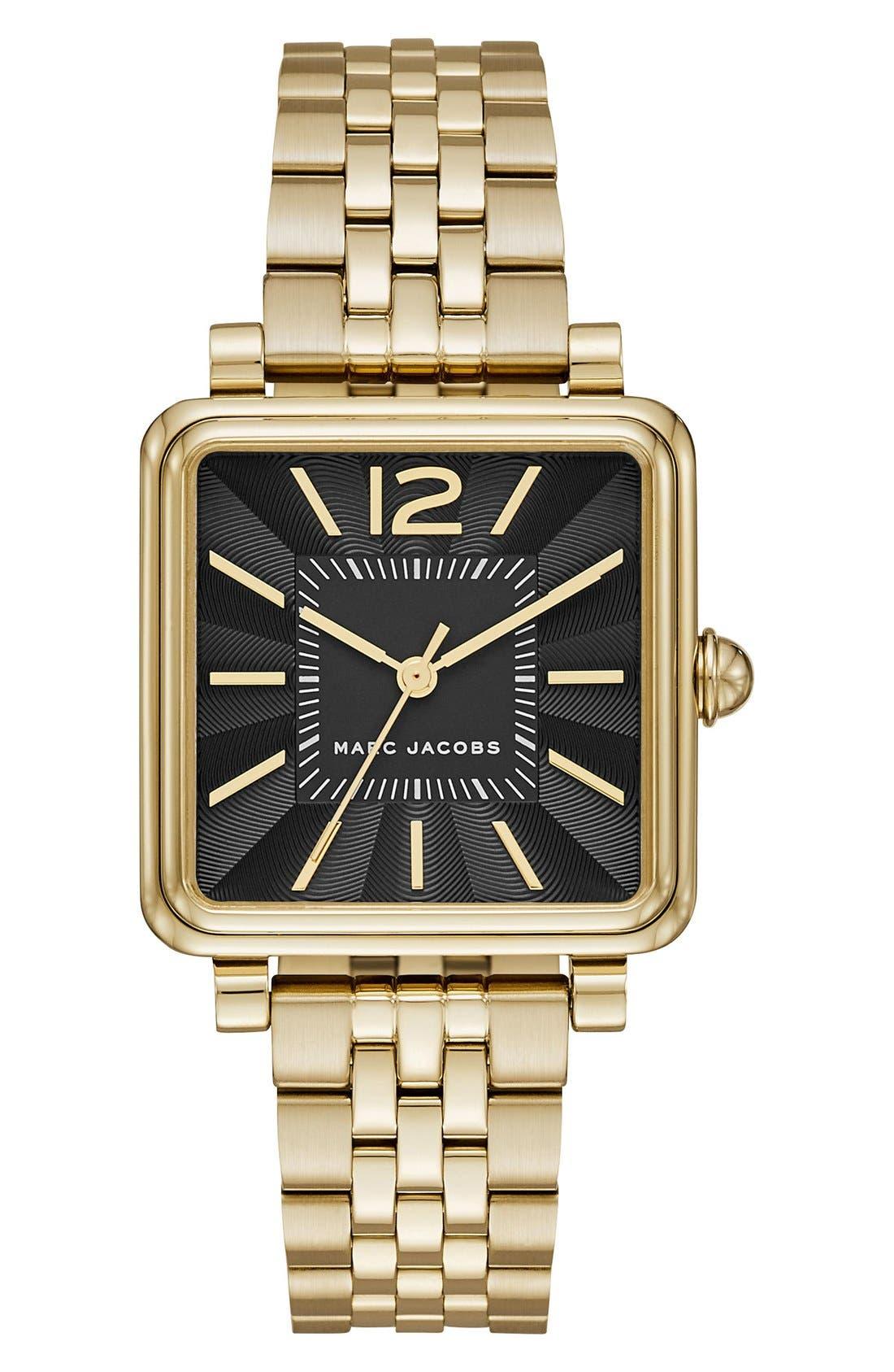 Vic Bracelet Watch, 30mm,                         Main,                         color, Gold/ Black