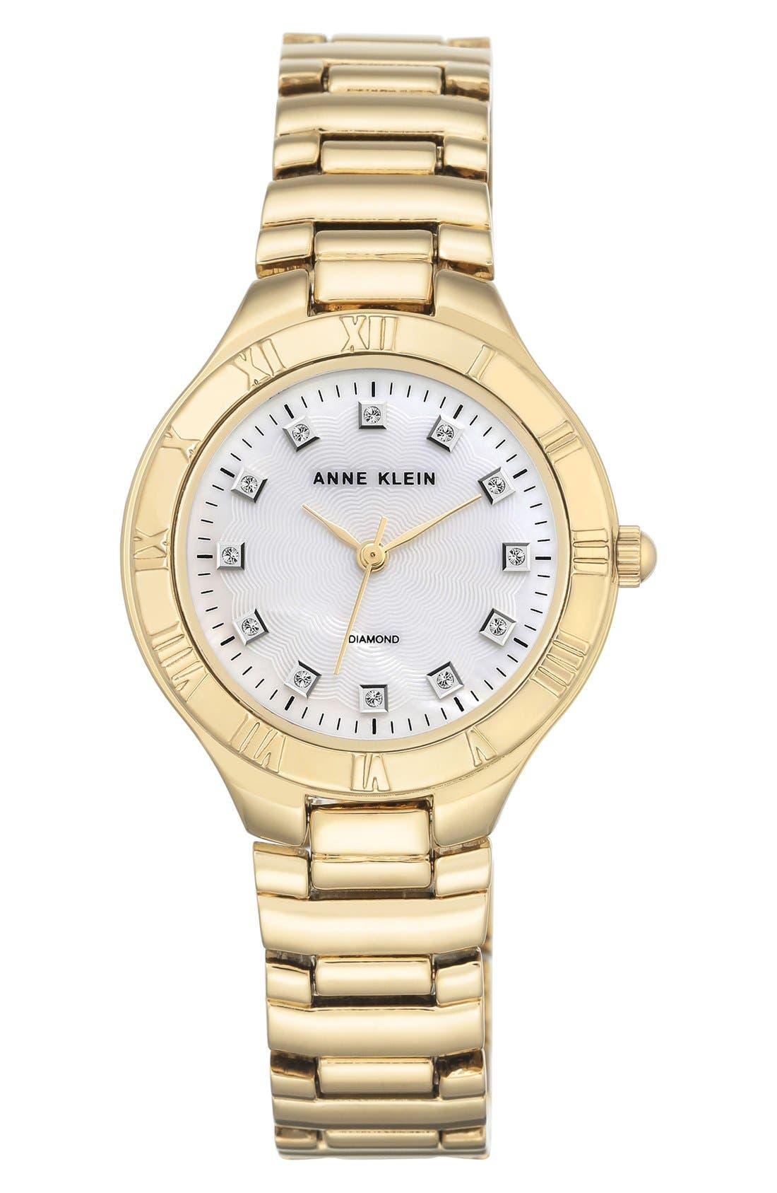Bracelet Watch, 32mm,                         Main,                         color, Gold/ Silver