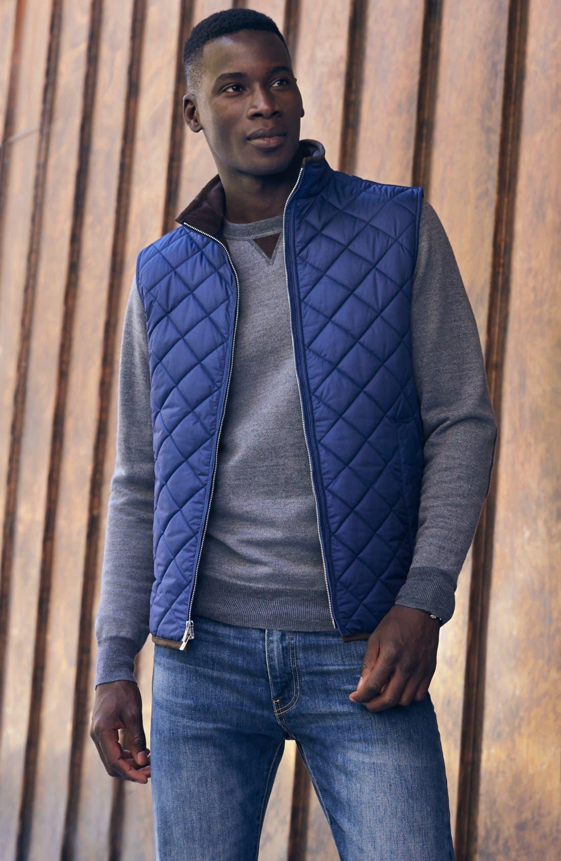 Alternate Image 7  - Peter Millar 'Hudson' Lightweight Quilted Vest