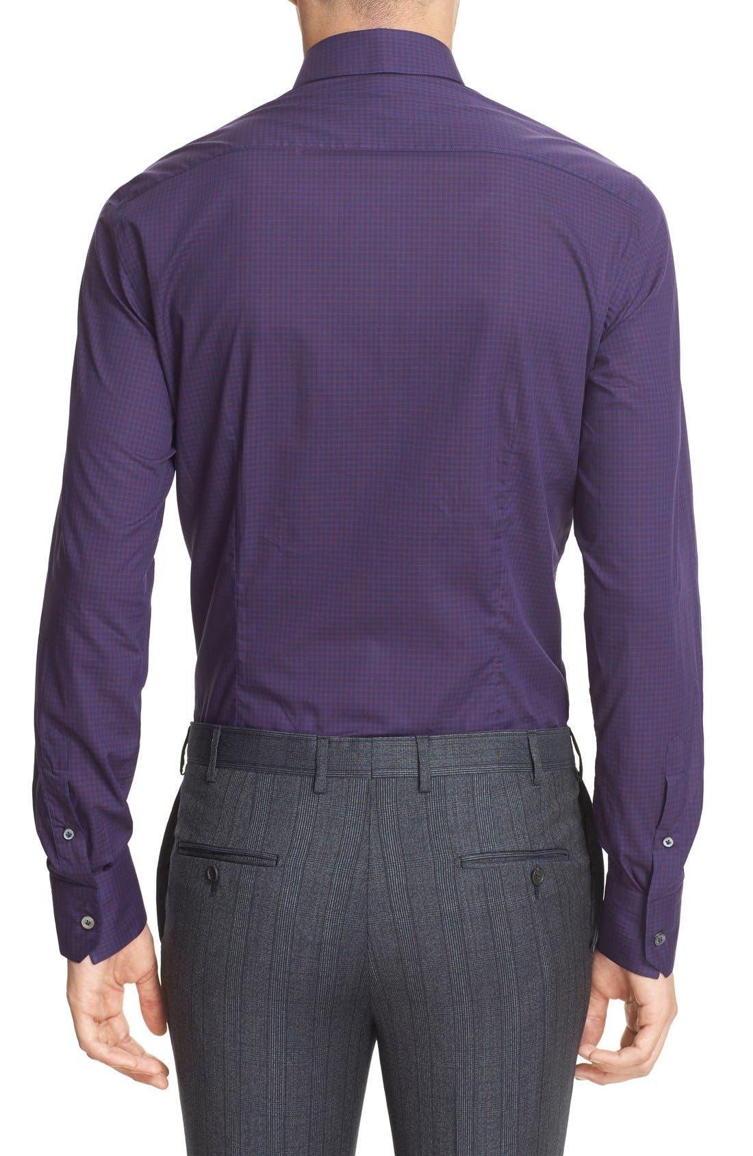 Alternate Image 3  - Lanvin Trim Fit Check Dress Shirt