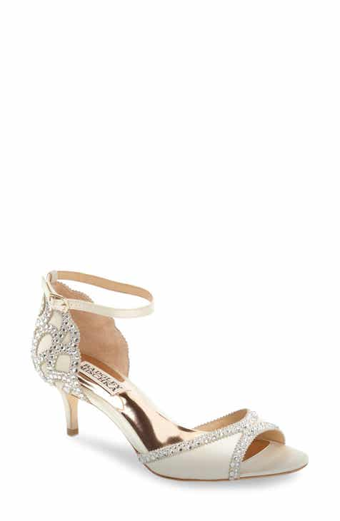 ea4555c2abc90 Badgley Mischka  Gillian  Crystal Embellished d Orsay Sandal (Women)