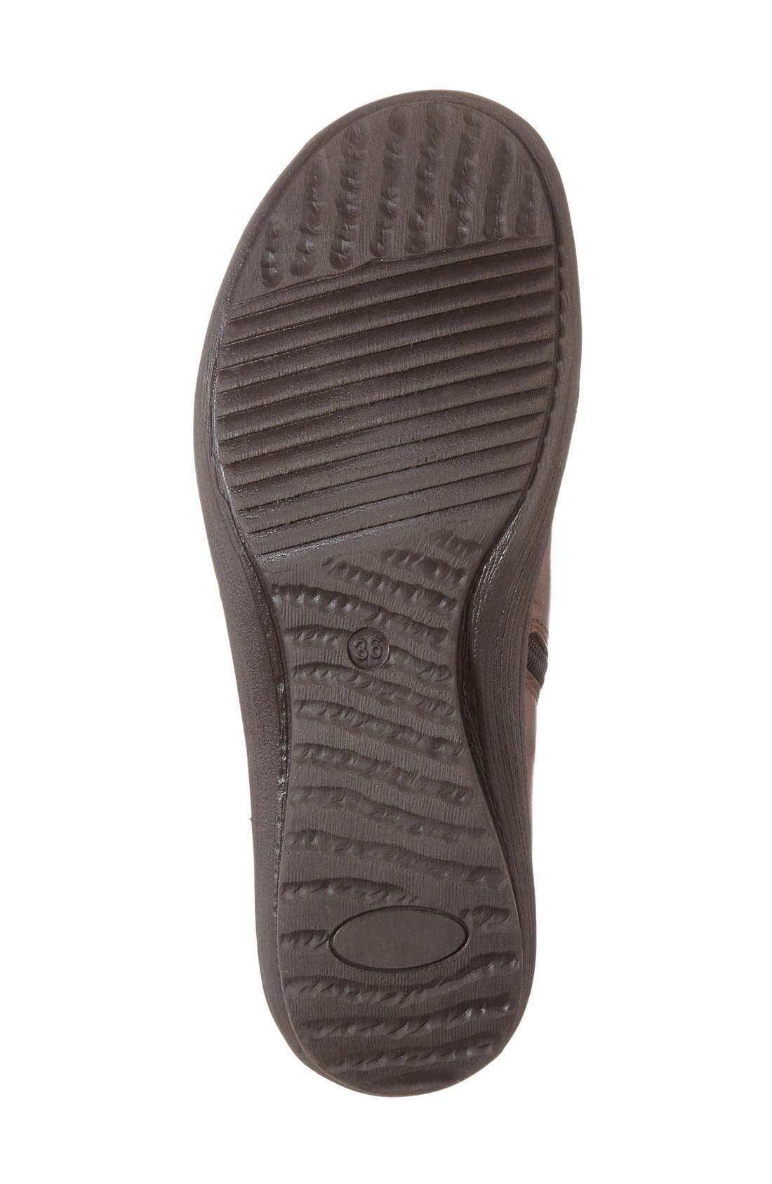 Alternate Image 4  - Napa Flex 'Euro' Zip Bootie (Women)