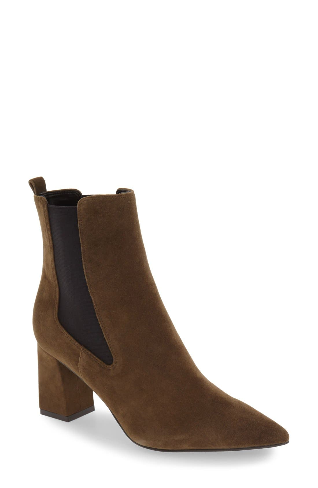 Alternate Image 1 Selected - Marc Fisher LTD 'Zanna' Chelsea Boot (Women)