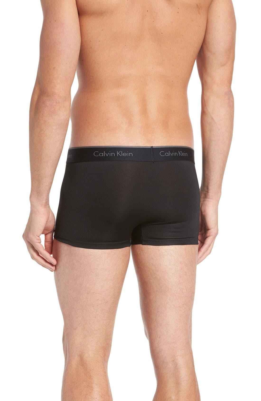 Alternate Image 3  - Calvin Klein 3-Pack Stretch Trunks