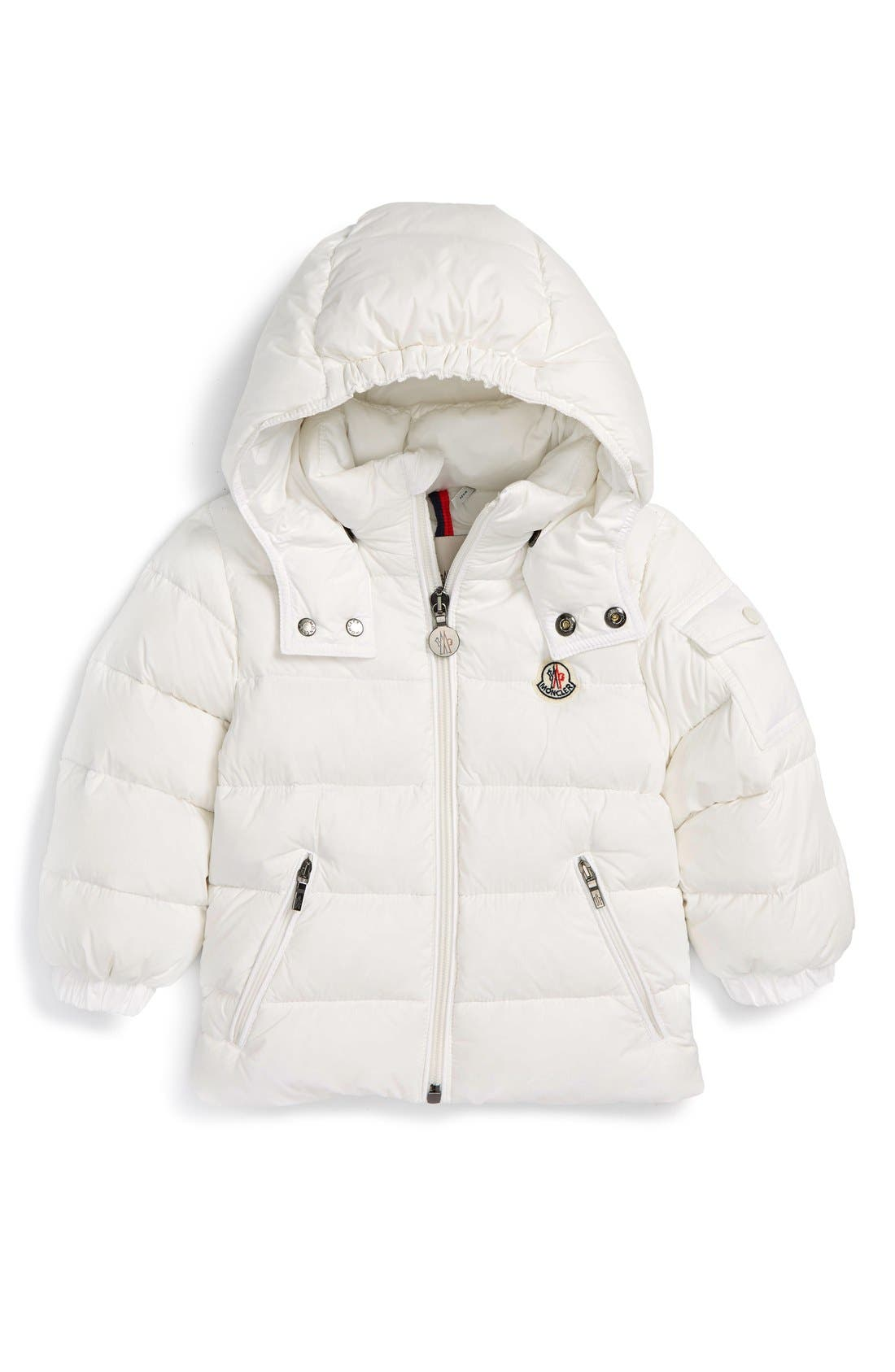 Moncler 'Jules' Hooded Down Jacket (Baby)
