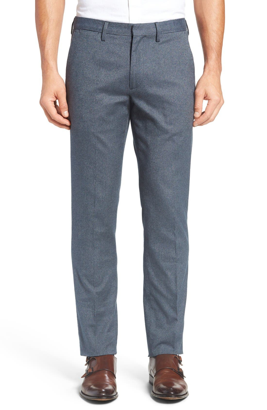 Main Image - Bonobos Foundation Slim Fit Trousers