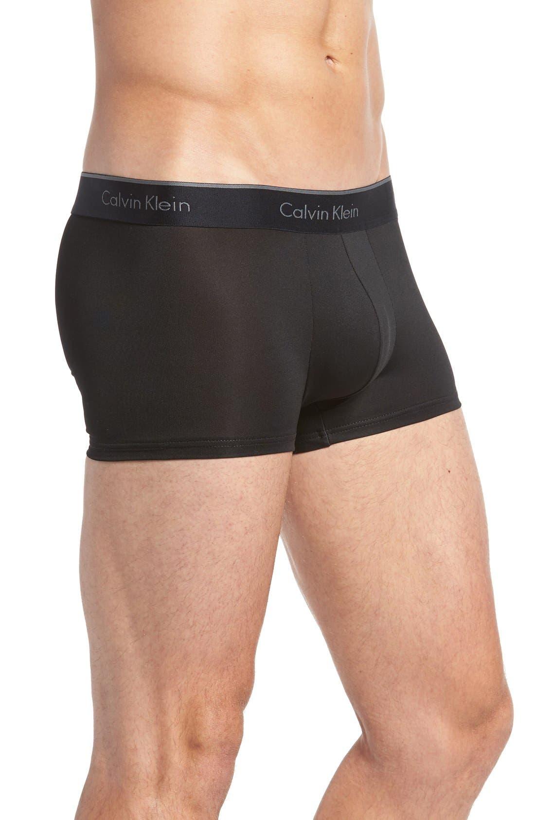 Alternate Image 4  - Calvin Klein 3-Pack Stretch Trunks