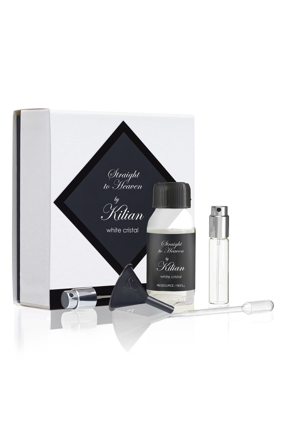 Kilian 'L'Oeuvre Noire - Straight to Heaven, white cristal' Fragrance Refill Set