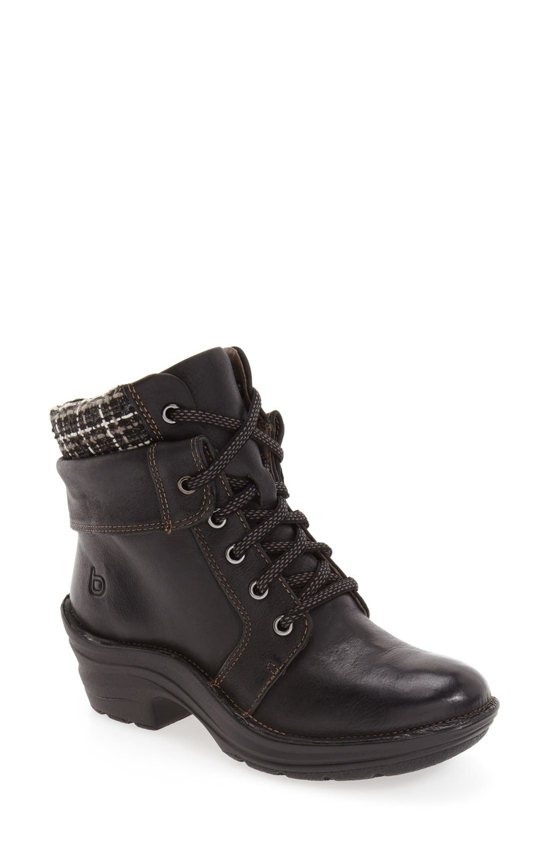 'Romulus' Boot,                         Main,                         color, Black Leather
