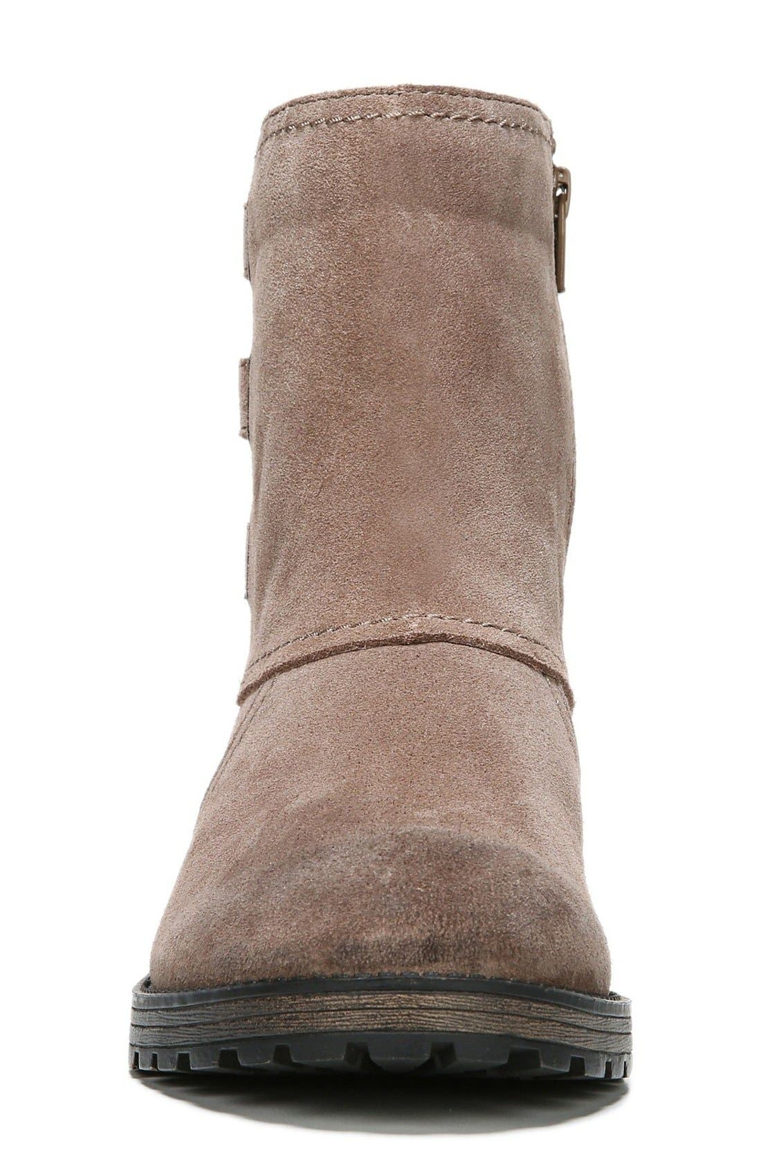 'Tynner' Boot,                             Alternate thumbnail 3, color,                             Taupe Leather