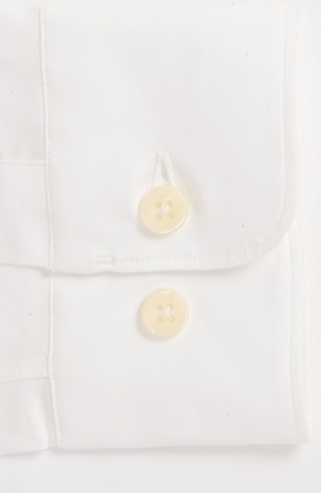 Alternate Image 2  - Z Zegna Slim Fit Solid Stretch Dress Shirt