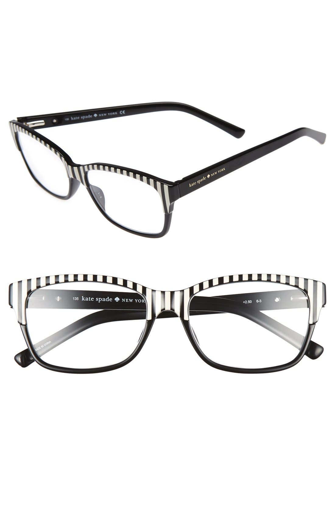 Alternate Image 1 Selected - kate spade new york tenil 52mm reading glasses