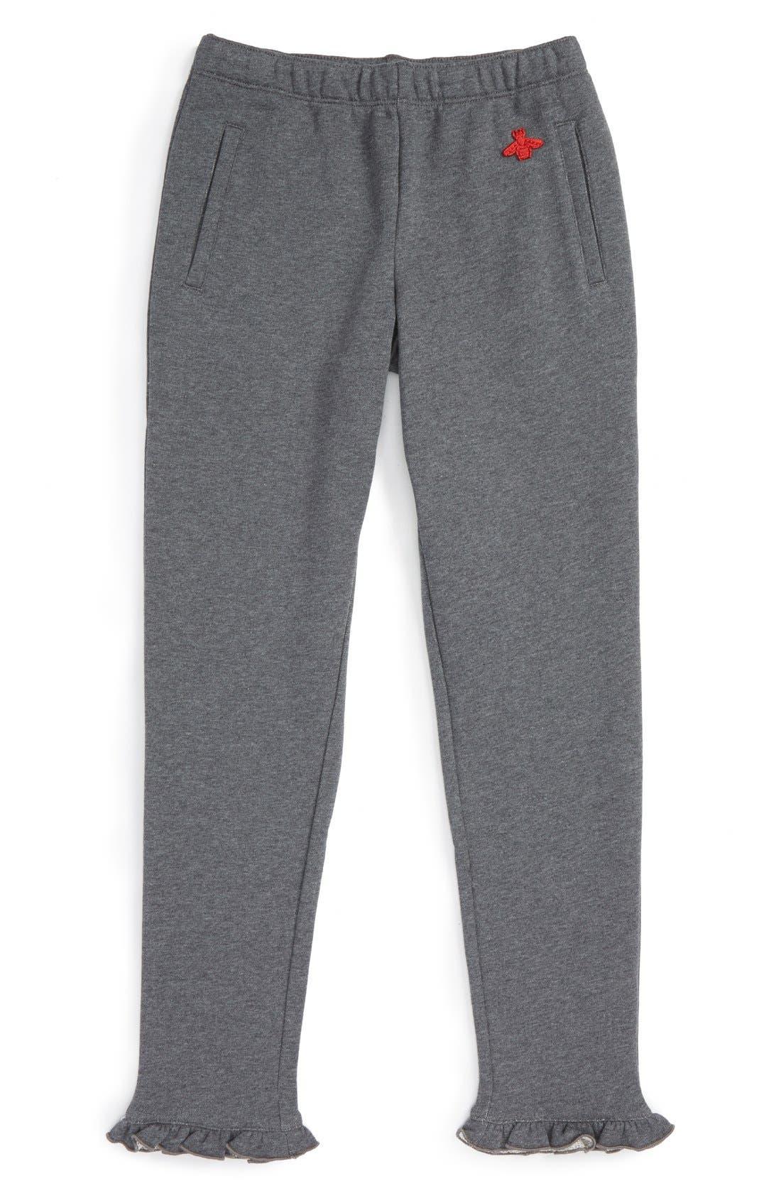 Gucci Ruffle Hem Jogger Pants (Little Girls & Big Girls)