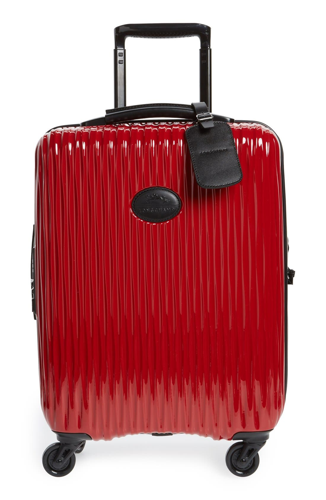 Alternate Image 1 Selected - Longchamp 'Fairval' Four-Wheeled Hard Shell Suitcase (22 Inch)