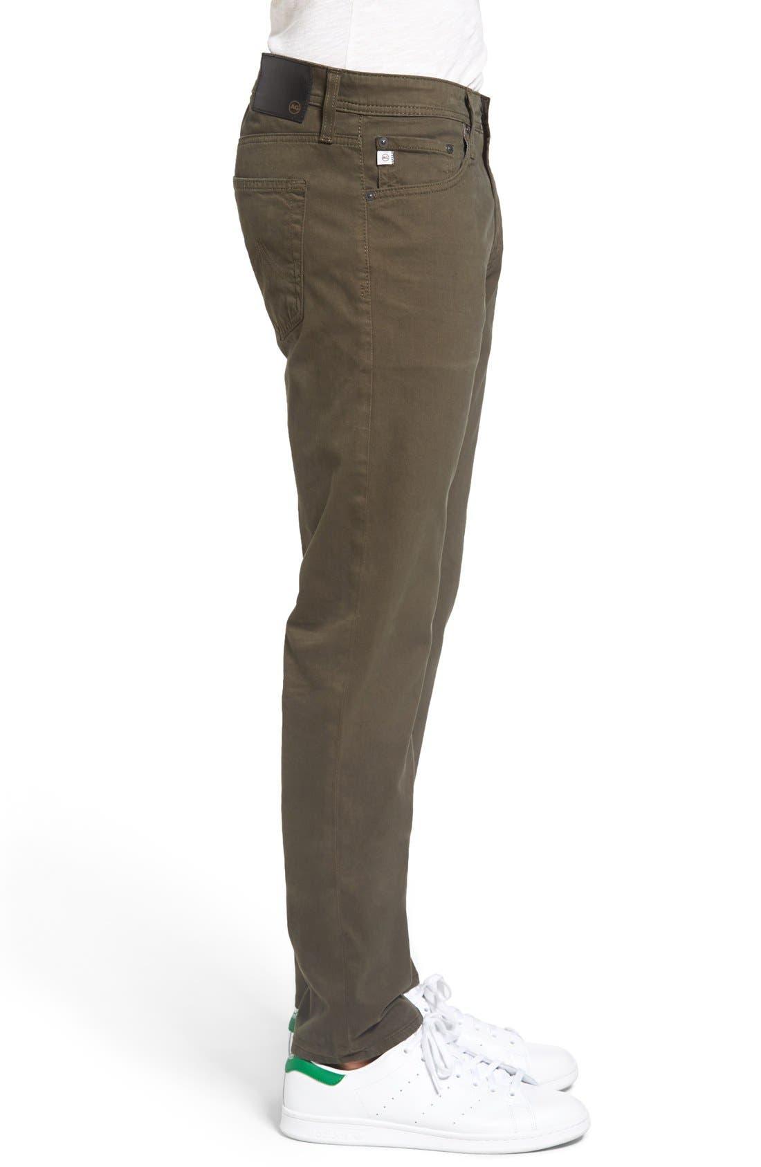 Alternate Image 3  - AG Dylan Slim Fit Pants