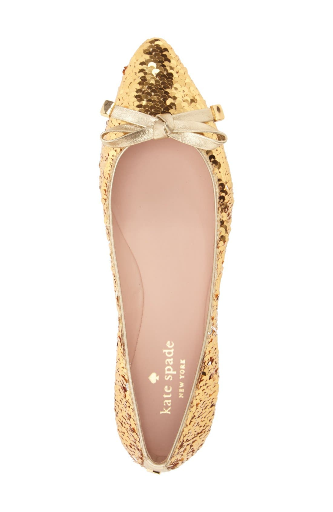 Alternate Image 3  - kate spade new york 'emma too' pointy toe flat (Women)
