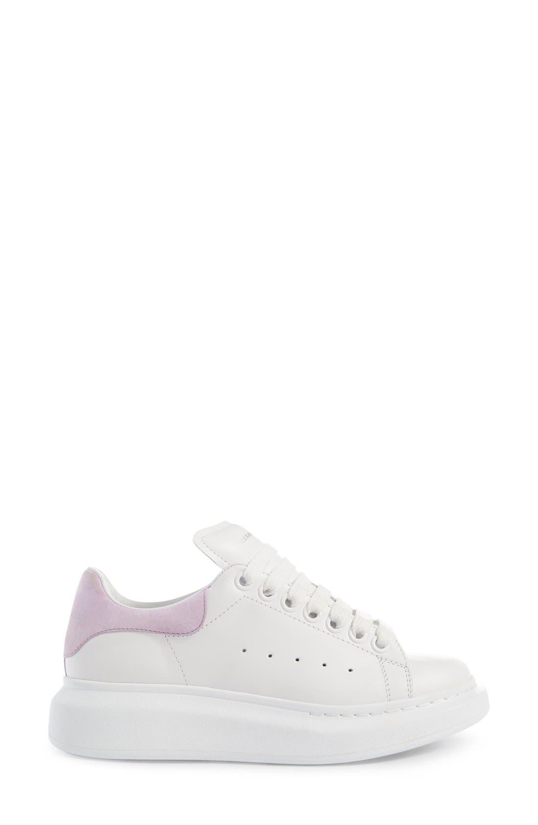 Alternate Image 4  - Alexander McQueen Sneaker (Women)