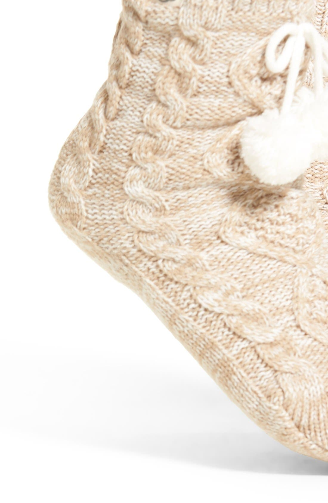 Alternate Image 2  - UGG® Fleece Lined Socks